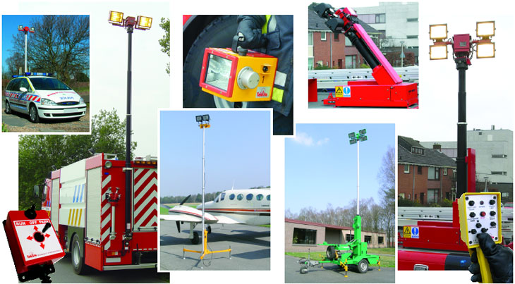 Teklite Emergency Portable Lighting - Various Models